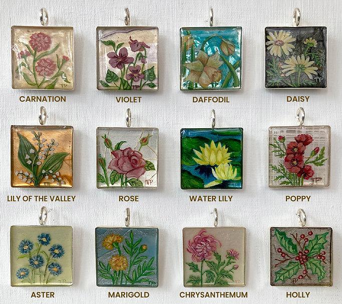 Birth Flowers Chart