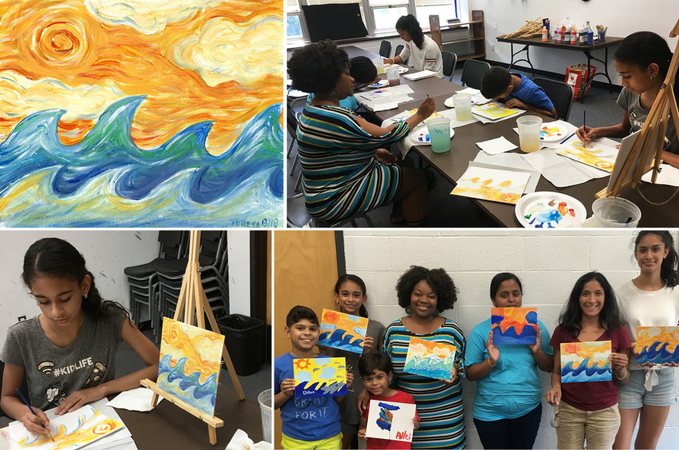 Yonkers Public Library: Summer Art Workshop for Teens