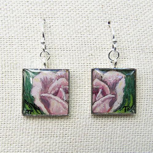 Tea Rose Earrings