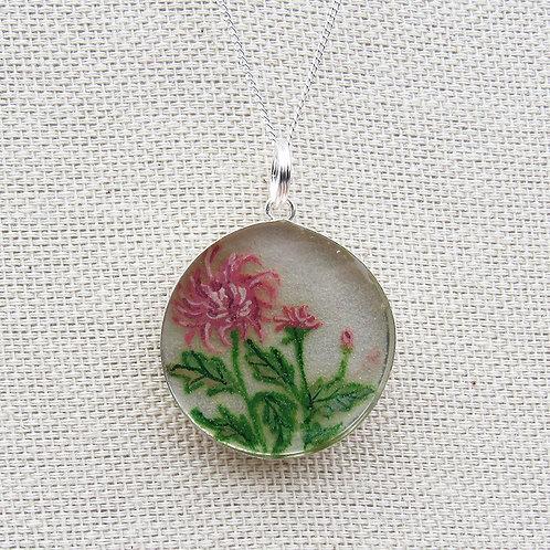 Chrysanthemums Necklace