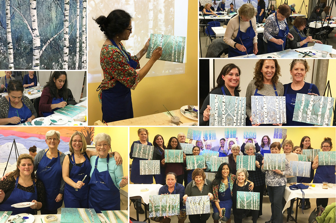 Hudson River Museum: Winter Paint & Sip