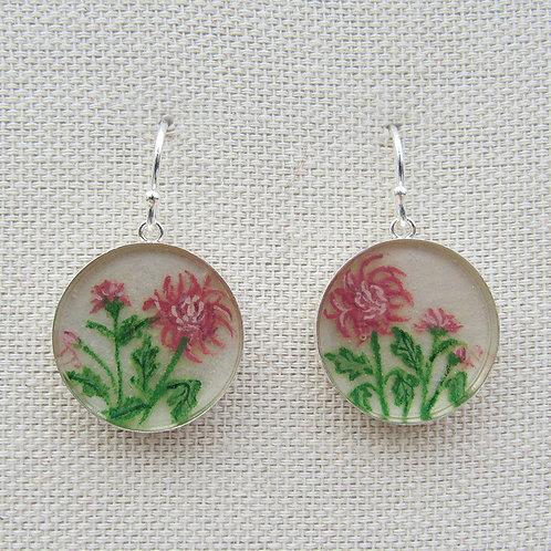 Chrysanthemums Earrings