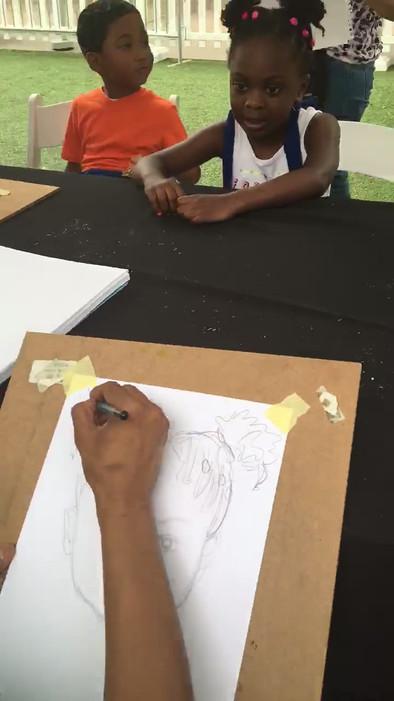 Drawing a Fun Face