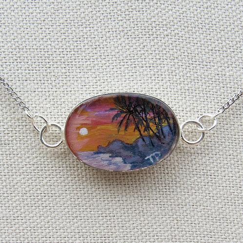Sunset Palms Necklace