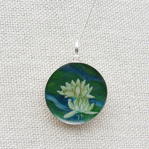 Water Lillies Necklace