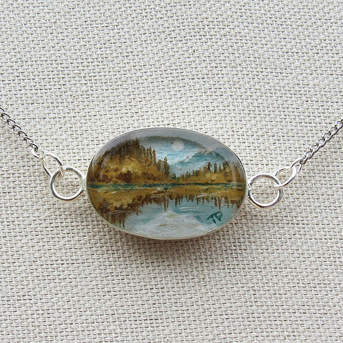 Silver Lake Necklace