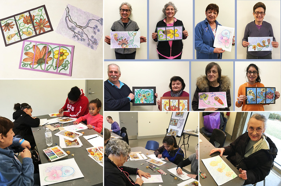 Hudson River Museum: Family Drop In & Draw