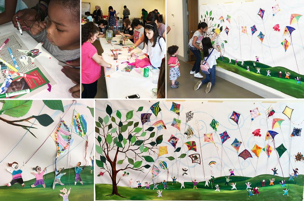 Hudson River Museum: Kite Day Family Art Workshop