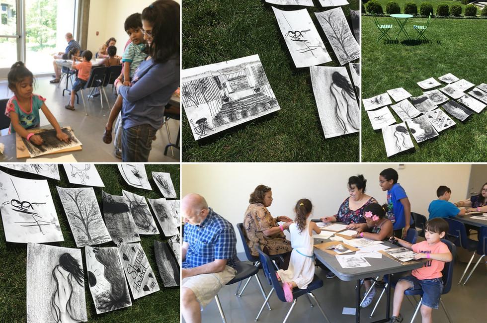 Hudson River Museum: Family Art Drop In & Draw