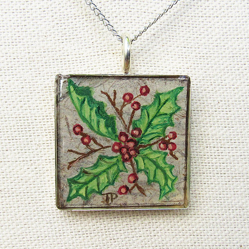 Holly Large Square Necklace