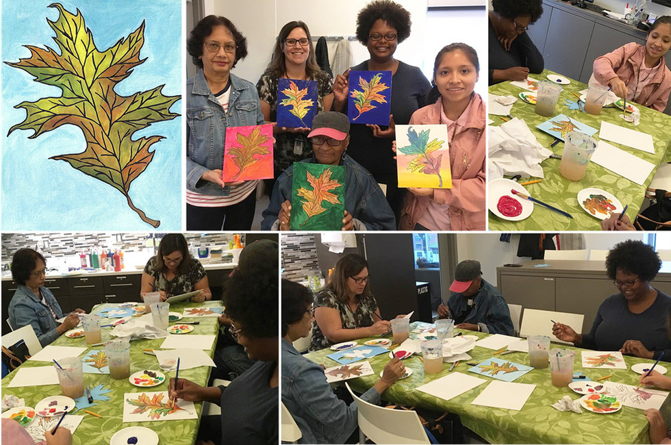 Yonkers Public Library: Fall Art Workshop for Adults