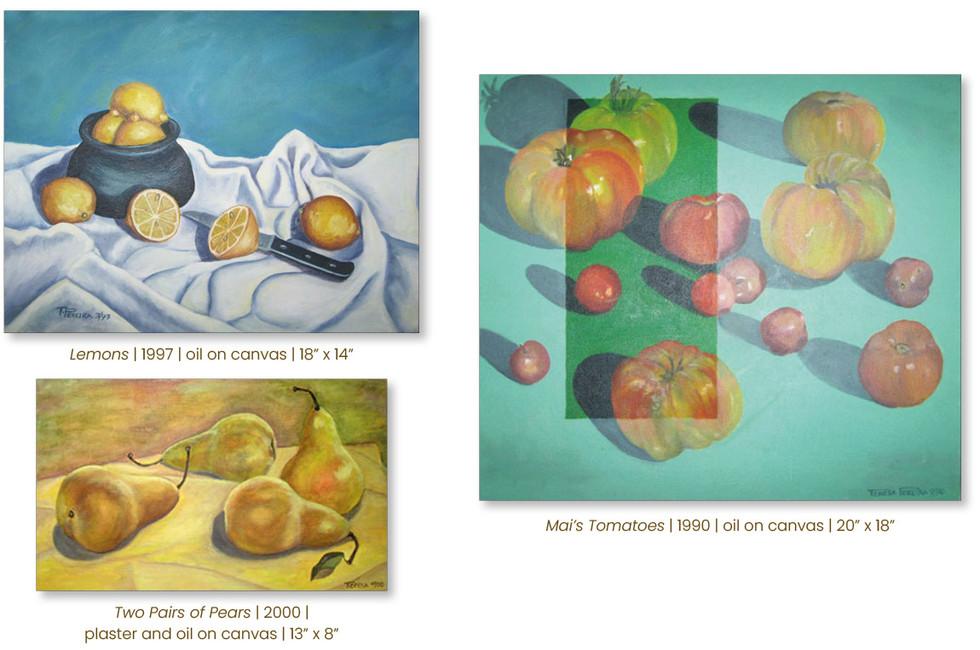 Fruit Still Life Paintings