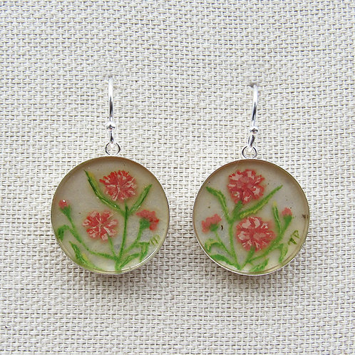 Carnations Earrings