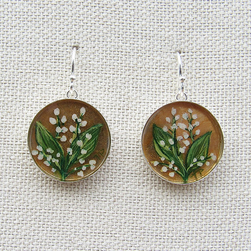 Lillies of the Valley Earrings