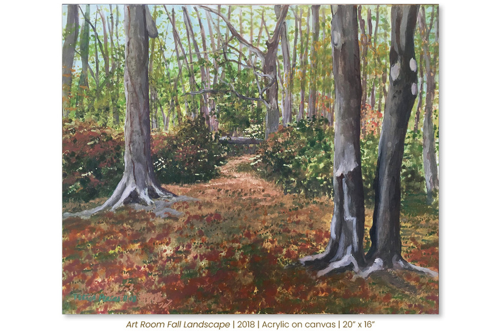 Art Room Fall Landscape