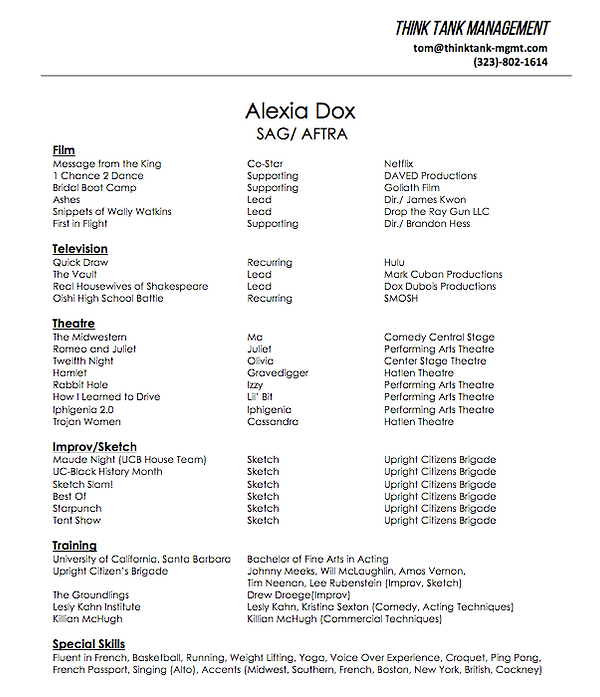 Resume Dox Images - resume format examples 2018