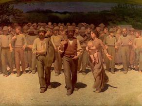 Picture of the week 2 Il Quarto Stato (The Fourth Estate) by Pellizza da Volpedo, 1898-01.