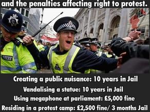 Oppose Police Crackdown Bill