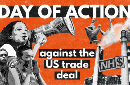Day of Action against US trade deal
