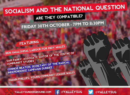 Event: Socialism and the National Question - are they compatible?