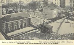 Státní gymnasium (pohled se střechy na t