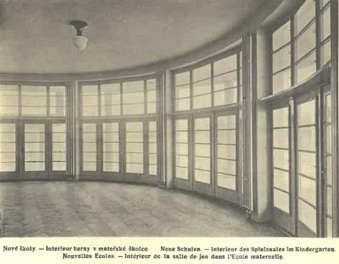 Nové školy (mateřská škola, interiér her