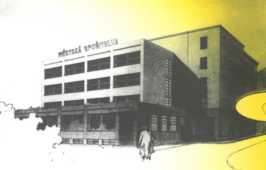 Návrh Městské spořitelny_1927