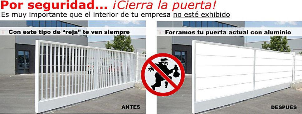 Puertas industrialesIndustrial