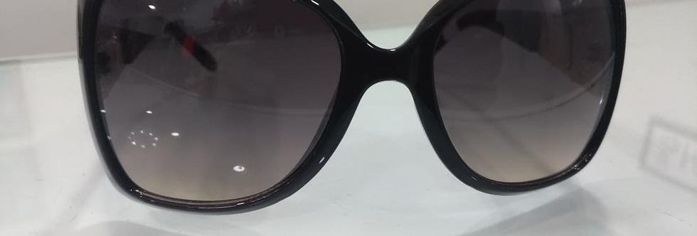 Óculos de Sol - Preto com Dourado