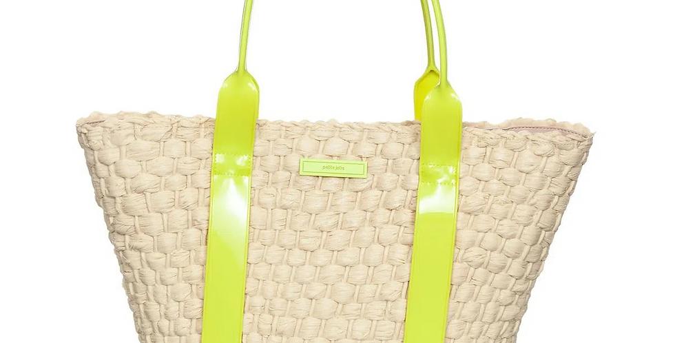Bolsa Petite Jolie Fleur Verde Abacate