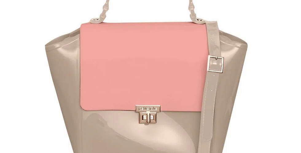 Bolsa Petite Jolie Shape Nude/Rosê