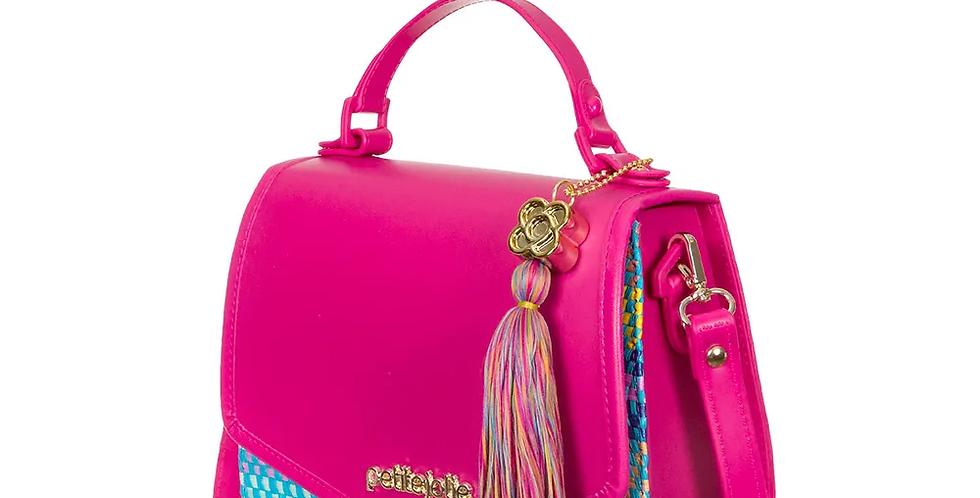 Bolsa Saddle Petite Jolie Pink/Multicolor