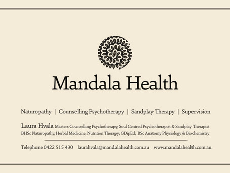 MANDALA HEALTH                                       NOW OPEN IN WOODEND