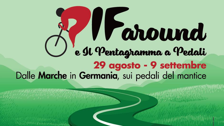 PIF around e Il pentagramma a pedali: in bici da Castelfidardo a Berlino al ritmo della fisarmonica