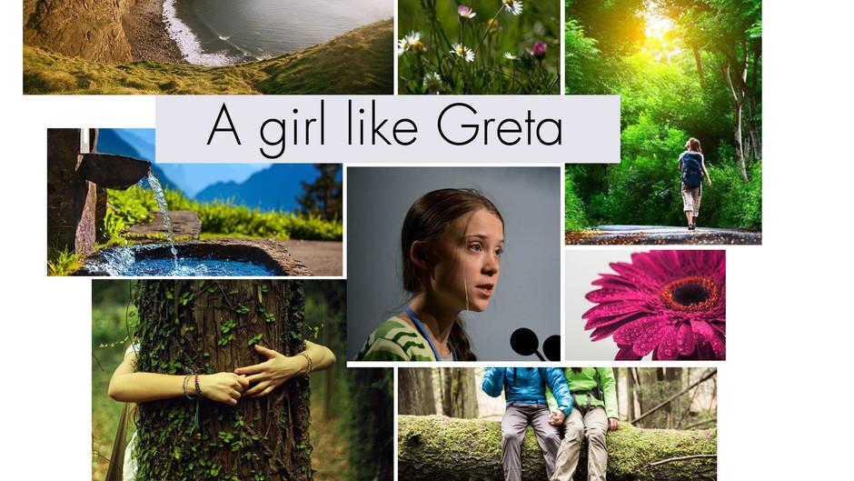 A girl like Greta.
