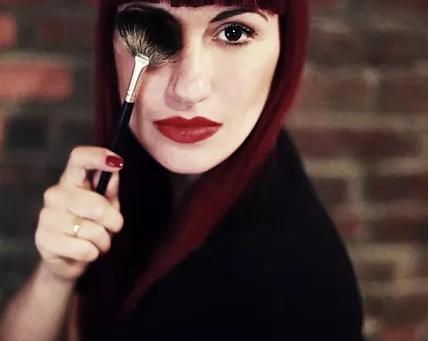 Angie Valentino, makeup artist NYC