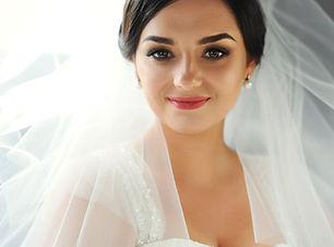 lächelnde Braut