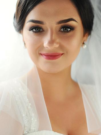 smilende brud