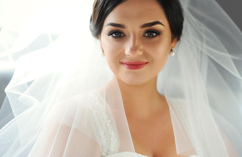 Maquillage mariage dans notre salon