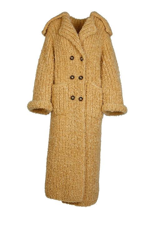 Boscana Handstrick oversize mantel