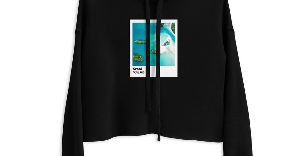 Polaroid Edition Krabi : Cropped Hoodie