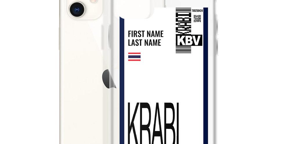 Personalized iPhone Case : Boarding Pass Phuket Edition