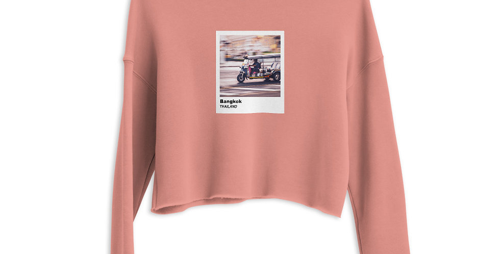 Polaroid Edition Bangkok : Women's Cropped Sweatshirt