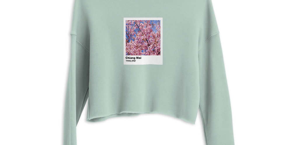 Polaroid Edition Chiang Mai : Women's Cropped Sweatshirt
