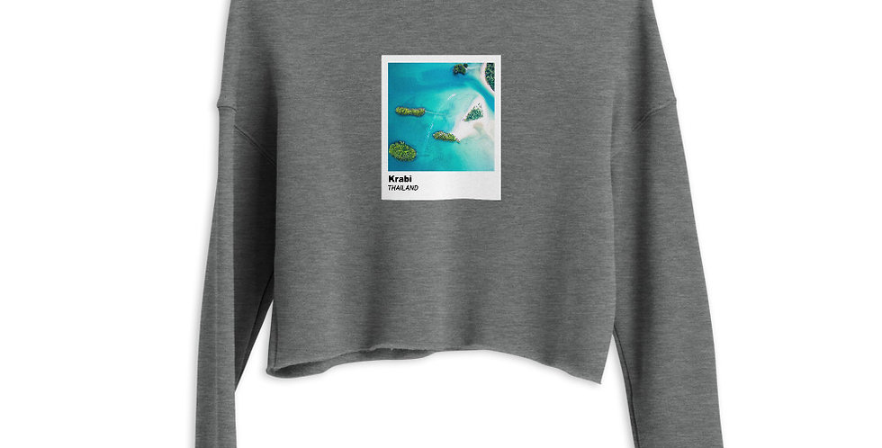 Polaroid Edition Krabi : Women's Cropped Sweatshirt