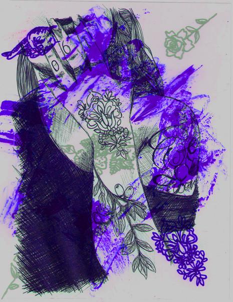 Purples | Human Figure | 2016