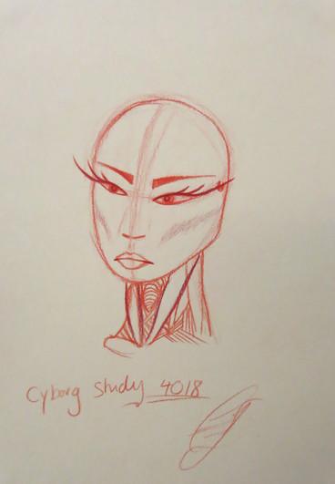 Cyborg Study 4018 | Androgyny | 2018