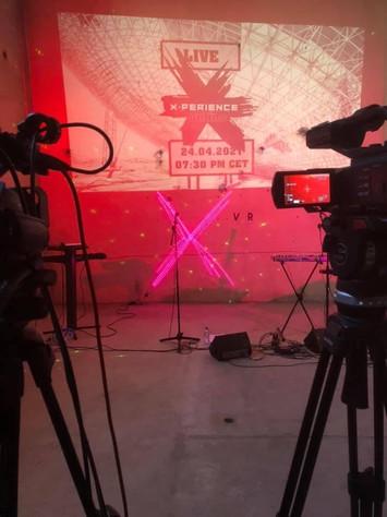 X-perience Online Konzert Halle 1