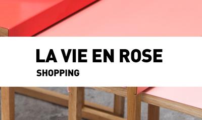 La vie en rose  // Shopping