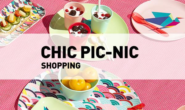 Chic pic-nic // Shopping